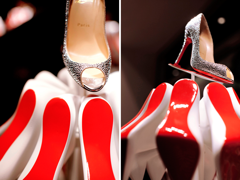 christian louboutin christmas tree
