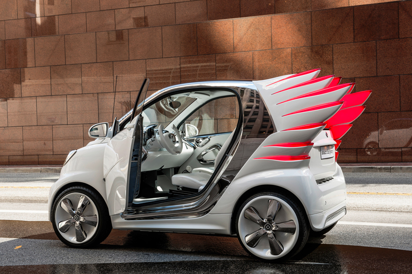 Smart Fortwo Electric Drive By Jeremy Scott