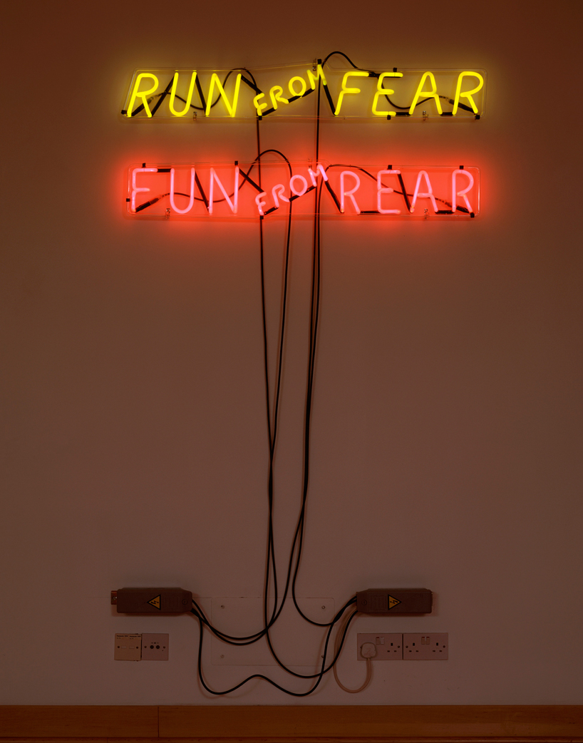 bruce nauman: mindfuck exhibition at hauser and wirth, london