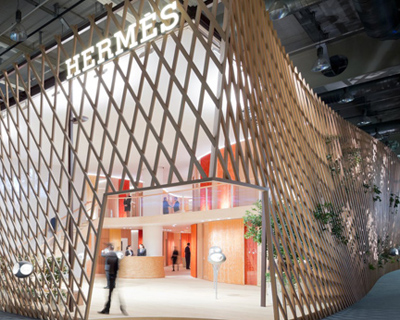 Toyo Ito The New La Montre Herms Pavilion At Baselworld