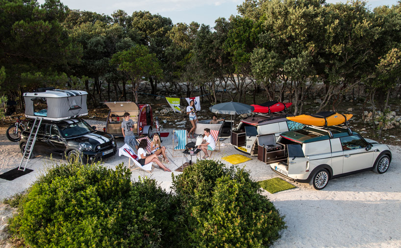 MINI's camping + expedition getaway car concepts