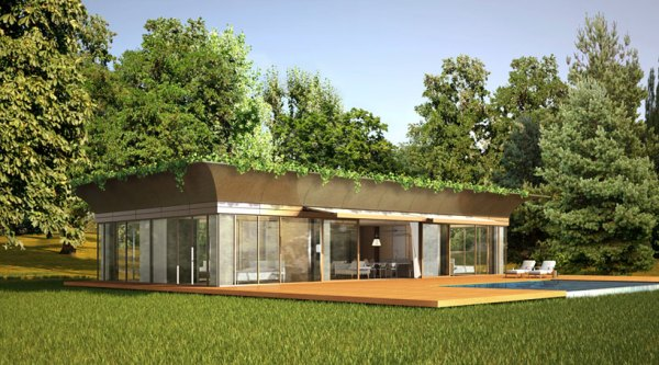 philippe starck with riko PATH prefab homes