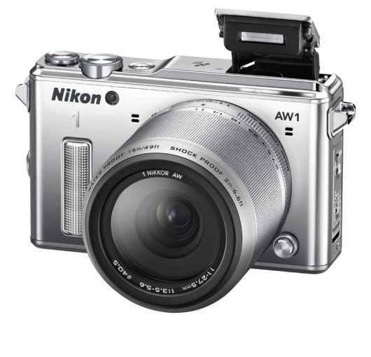nikon 1 AW1: world's first waterproof interchanging lens camera