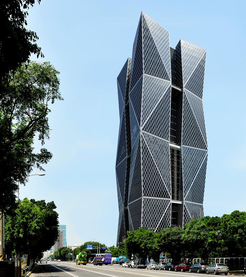 KRIS YAO ARTECH Employs Dynamic Geometries In China Steel HQ