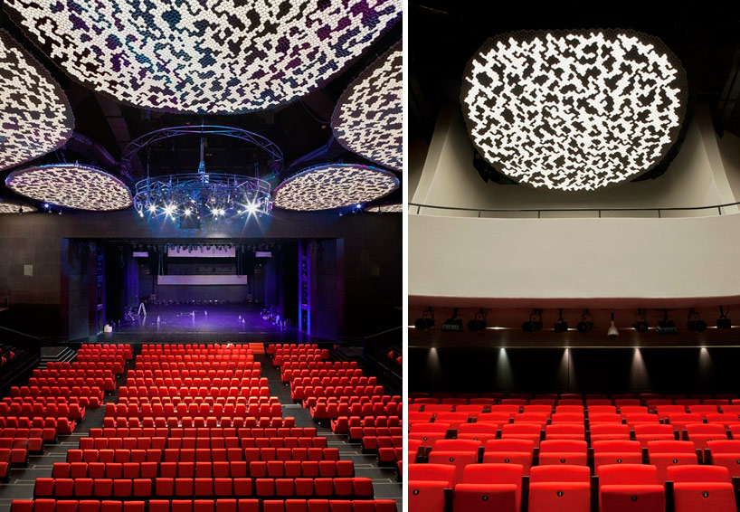 AS Blends Chinese Zen Honeycomb Interior In Shanghai Theater