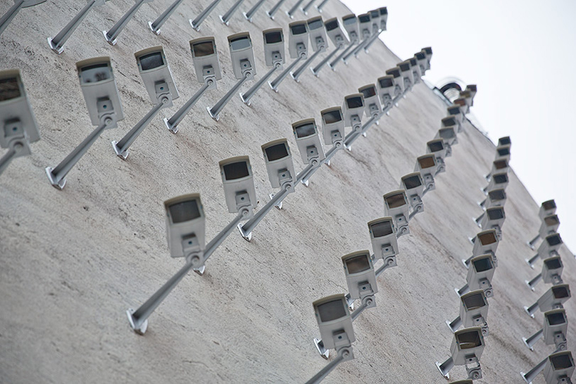 SpY Installs 150 Fake Surveillance Cameras On Building Facade
