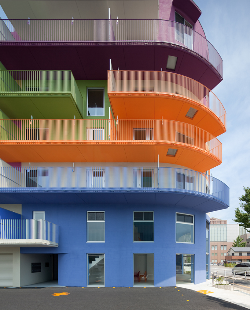 Ciel Rouge Creation Injects Bold Colors Into Okazaki Building