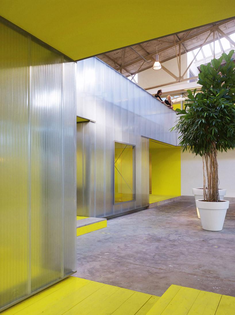 Ector Hoogstad Architecten Converts Steel Plant Into Offices