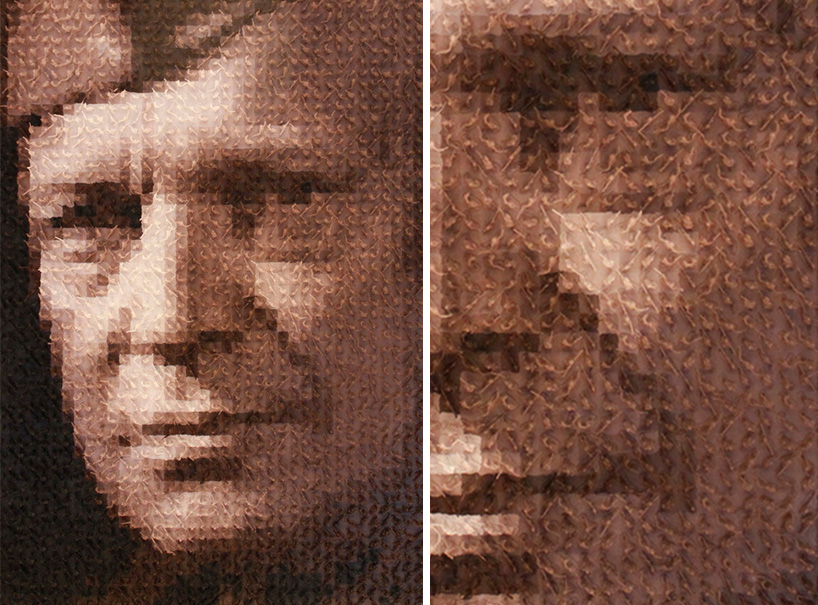 jean-pierre seguin assembles an army of toy soldiers for WWII portraits