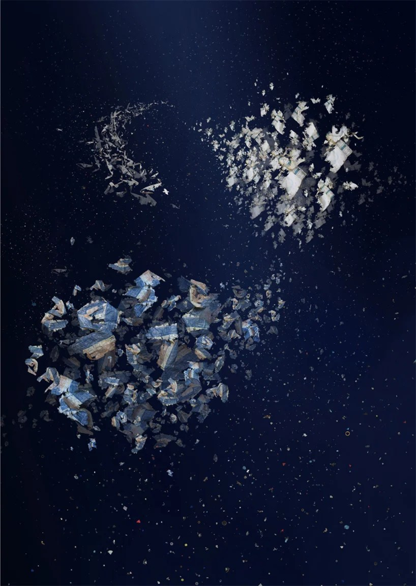 Mandy Barker Collages Collected Debris From The Japanese