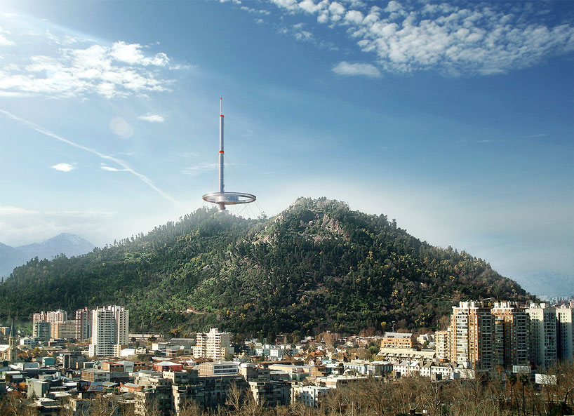 torre antena santiago architects of invention designboom