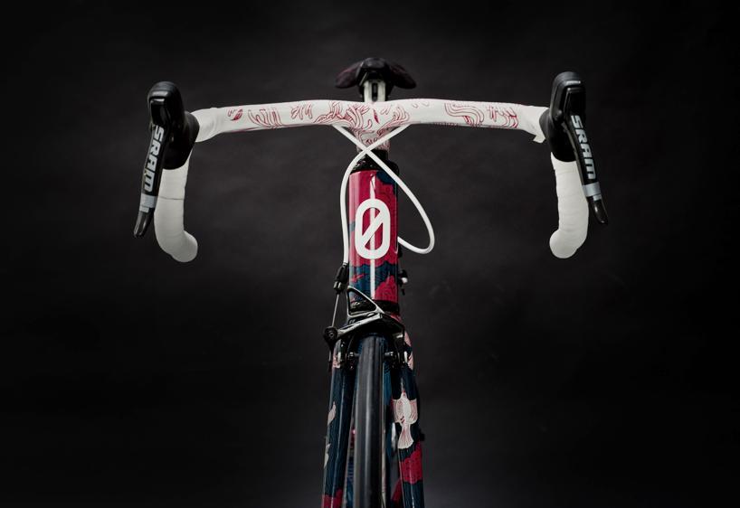 festka urban zero carbon fibre bicycle featuring tomski & polanski design