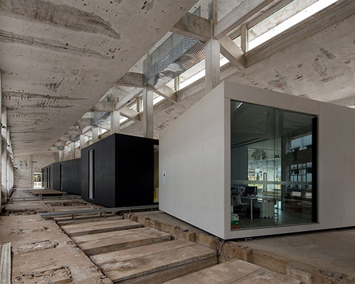 O Office Turns An Abandoned Factory Into ID Town The