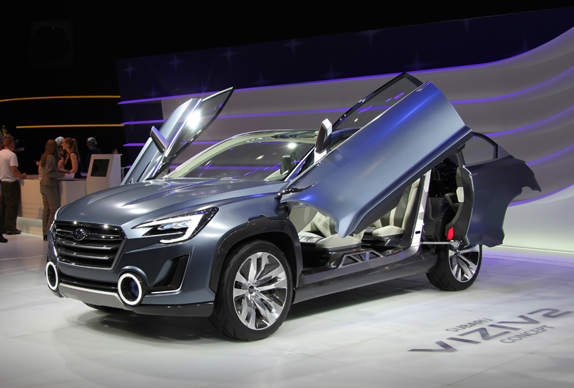 Subaru Viziv 2 Plug In Hybrid Crossover Concept At Geneva