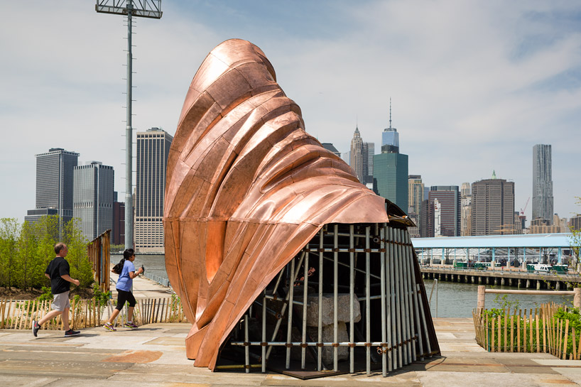 danh vo deconstructs statue of liberty in NYC for we the people