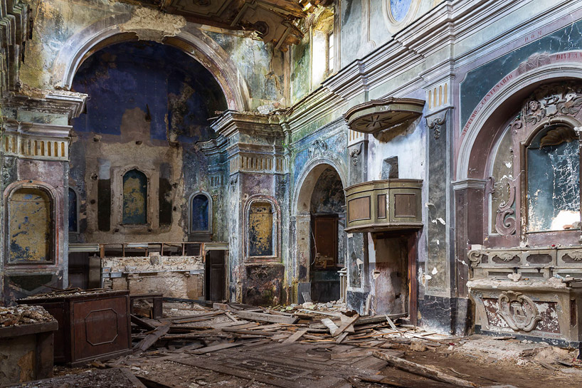 buona fortuna documents italian chapels abandoned after the irpinia earthquake