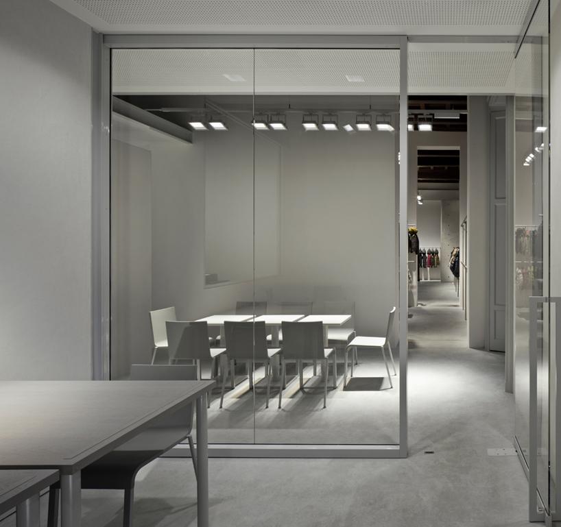 Tadao Ando Defines Duvetica Showroom In Milan With