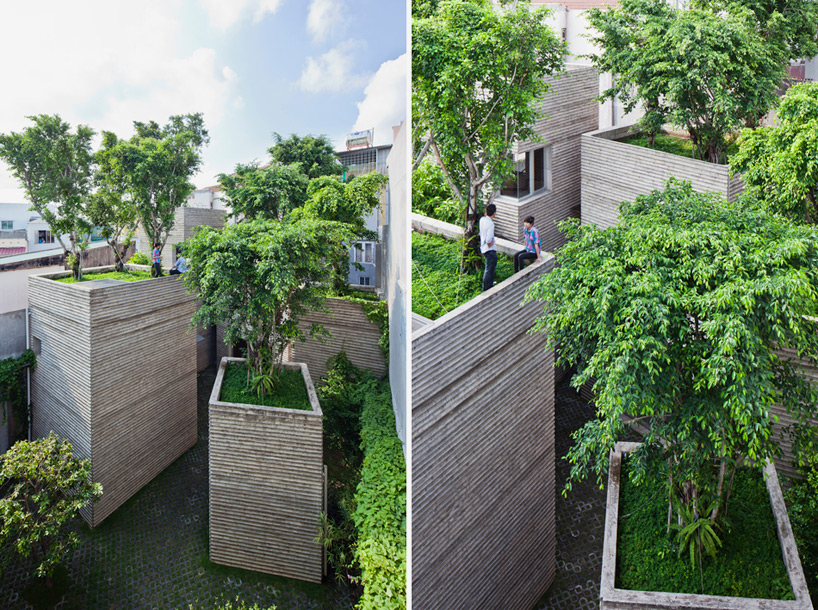 vo trong nghia architects house for trees vietnam designboom