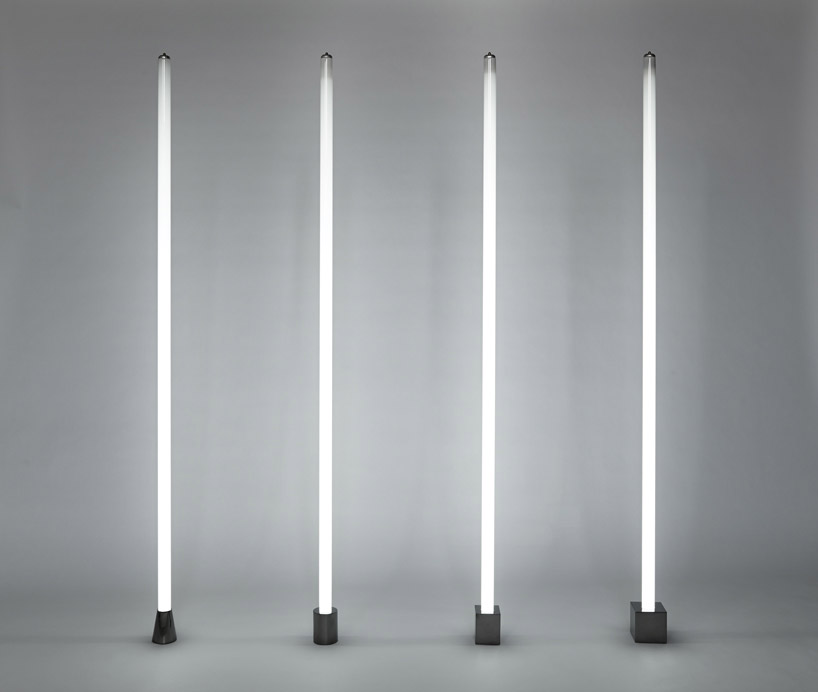 Castor Design Illuminates Induction Tube Light With Magnets