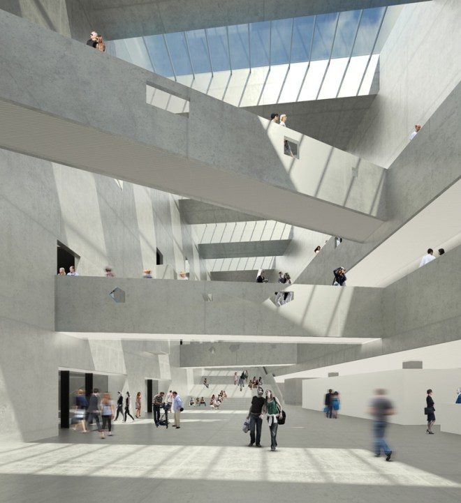 bernard tschumi architects ANIMA cultural center designboom