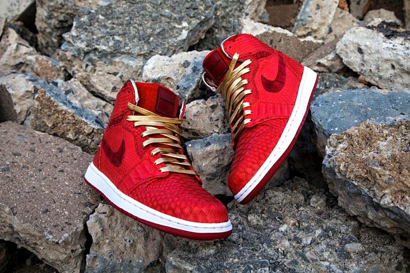 JBF Customs Remixes Retro Air Jordans With Crocodile