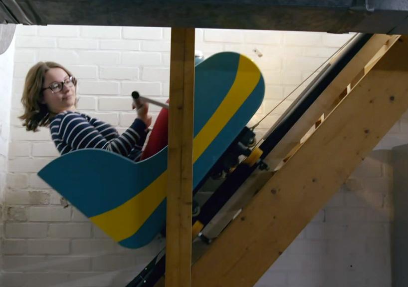 Homebuyers Roller Coaster Their Way Through Dutch Residence