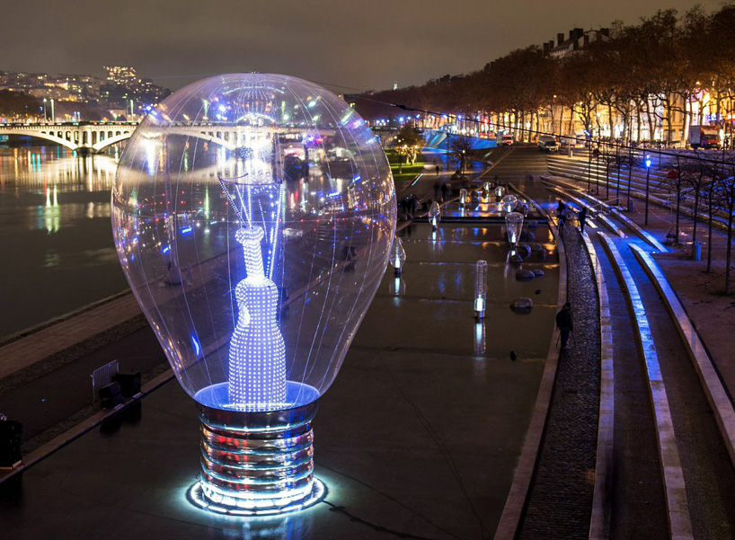 severine fontaine + philips illuminate lyon for the festival of lights