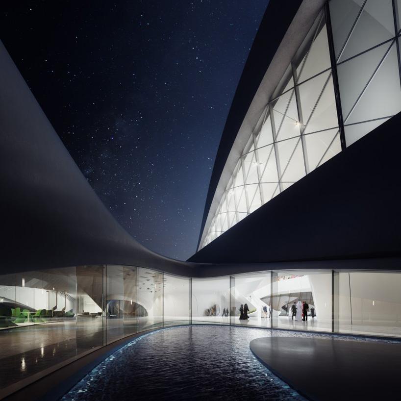 Zaha Hadid Beeah Headquarters Plans Revealed