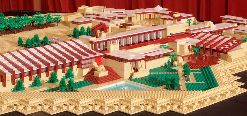 Frank Lloyd Wrights Taliesin West Recreated Using