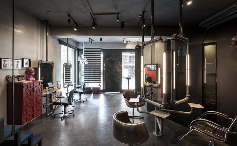 Hao Design Renovates Split Level Hair Salon And Residential
