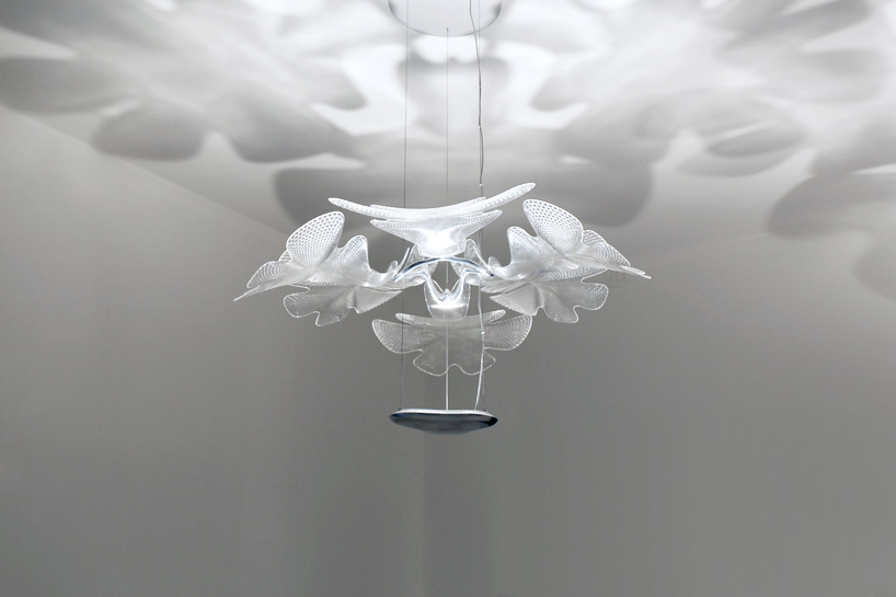 Ross Lovegrove S Organically Formed Chlorophilia Light For