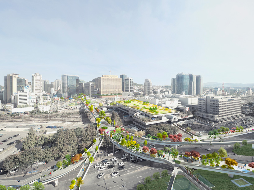 MVRDV the seoul skygarden abandoned highway korea designboom