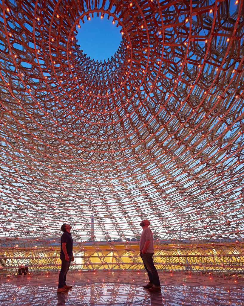 Expo Milan 2015 Inside The Hive At The Uk Pavilion
