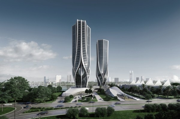 zaha hadid mariners cove plans revealed for australian tower