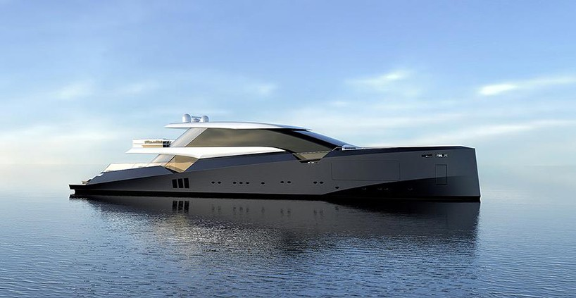 50m Amnesia Yacht Concept Blends Classic Fisherman Lines