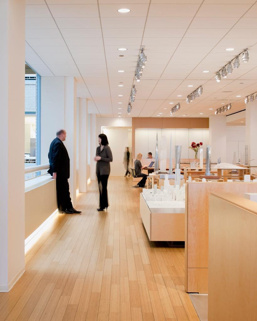 Studio Visit Designboom Tours SOMs Chicago Headquarters