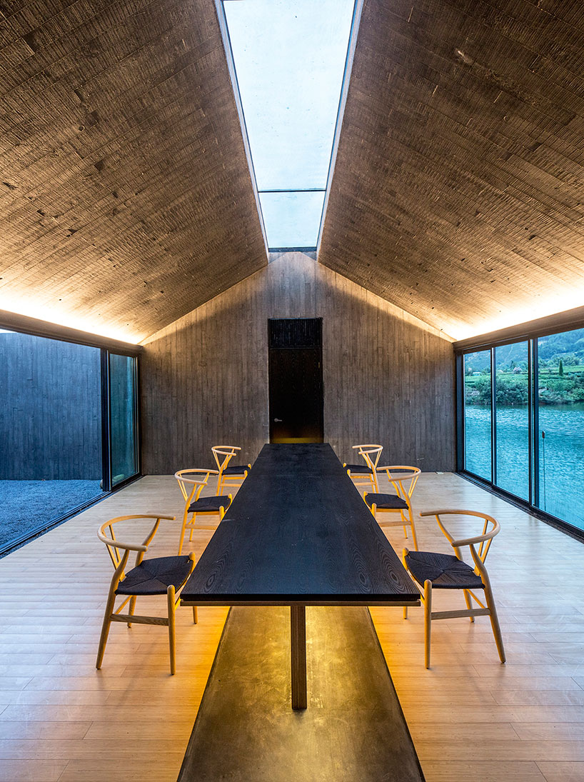 Dna Architecture And Design Casts Concrete Damushan Tea House