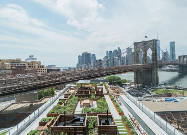 rooftop garden brooklyn field operations tops brooklyn apartments with roof garden