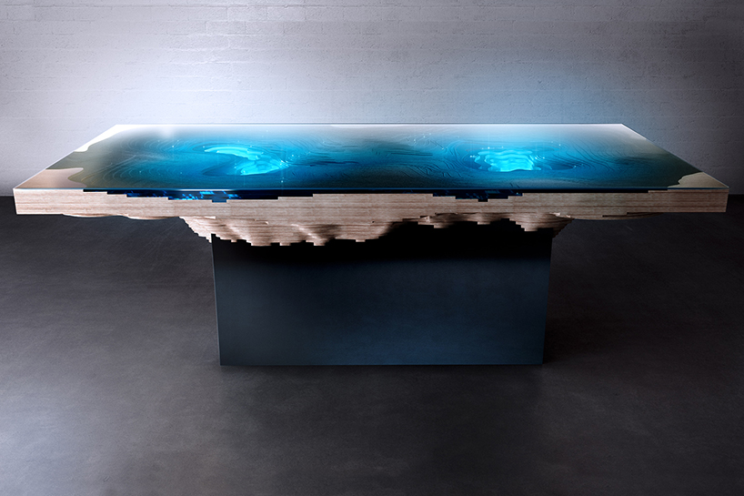 Duffy London S Abyss Dining Table Replicates The Ocean Depths