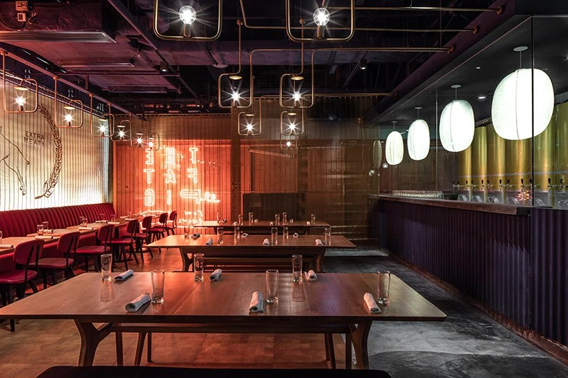 The Fat Pig Restaurant In Hong Kong By Michaelis Boyd