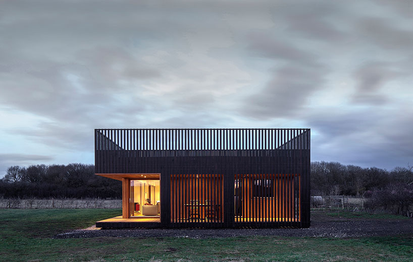IPT Architects Clads Howe Farm Residence In Charred Timber Planks