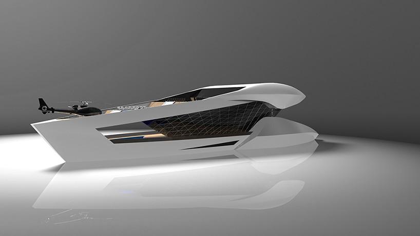 Sea Level Designs CF8 Luxury Yacht Concept