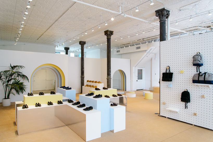 Everlane And Robert Storey Crafts Interactive Shoe Park In
