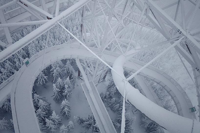 Franek Architects Completes Man Built Sky Walk In The Czech Republic