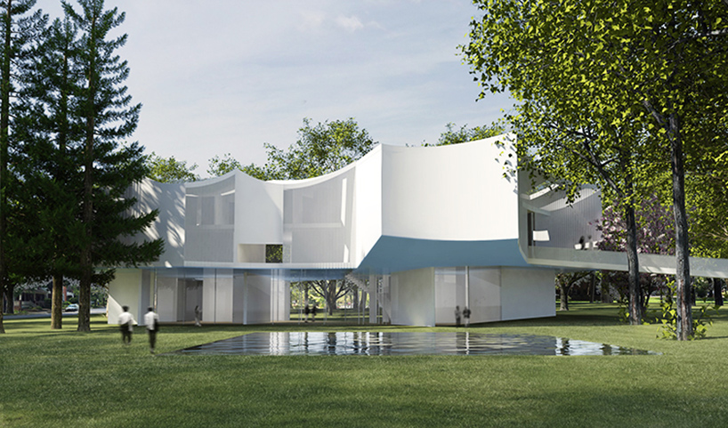Steven Holl Designs New Visual Arts Building For Franklin