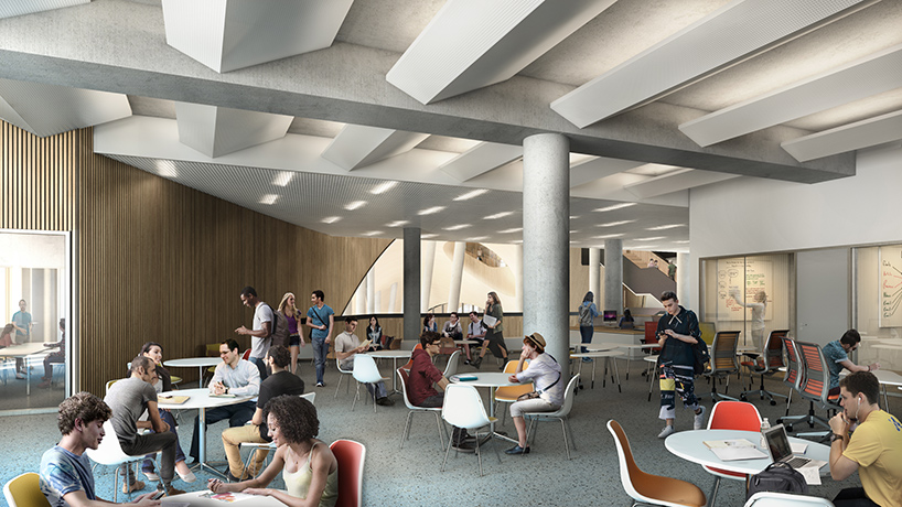 Snhetta Reveals New Images Of Temple University Library
