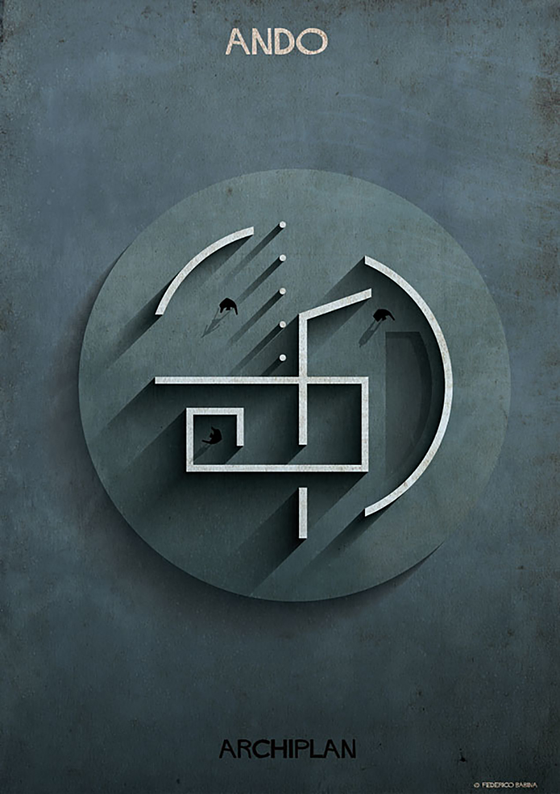 Federico Babina Dissects Famous Floor Plans As