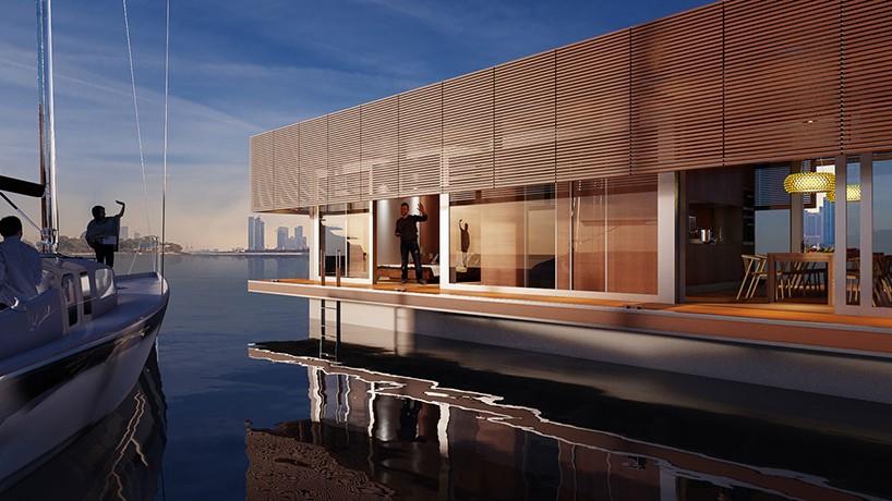 Waterlovt Houseboat Offers Luxury Floating Homes