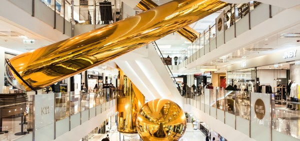 people's architecture office adds golden bubbles to K11