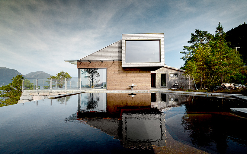 Rever Amp Drage Architects Constructs Cabin Straumsnes